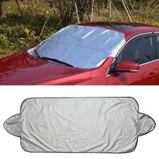 Car Snow Ice Protector Visor Sun Shade Fornt Rear Windshield Cover Block Shields