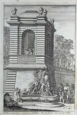 Jean Le Pautre Suite de 6 Planches XVIIe Fontaines ou Jets-d'Eaux à la Moderne