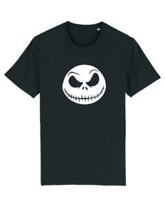 Jack Face NIGHTMARE BEFORE CHRISTMAS Halloween Jack Skellington UNISEX T-SHIRT