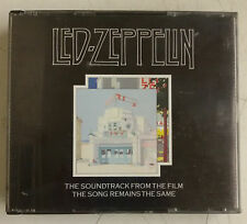 Led Zeppelin The Soundtrack From The Film The Song Remains The Same 2-CD