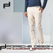 $580 Porsche Design Sports men Pants Man Club Golf adidas Sand P'5000 Cotton 40""