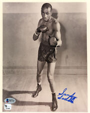 Sandy Saddler Authentic Autographed Signed 8x10 Photo Beckett BAS #F87723