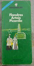 Guide Vert Michelin Flandres, Artois, Picardie, 3e édition, 1991, bon état