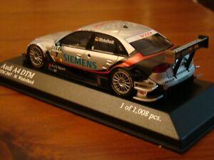 1/43 Audi Sport A4 DTM 2007 Winklehock Vodafone Bosch Seimens DEKRA Rare