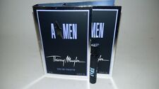 New On Card Thierry Mugler Angel Men AMEN A*MEN  EDT 1.2ml 0.04 oz Vial Lot of 2