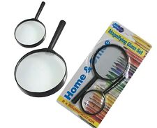 2 Magnifying Glass With Handle Magnyfying, 2 For The Price Of One
