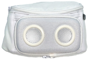 Jammypack X Jammy Blank Fanny Pack Two Audio Speakers Hip Utility One Size White