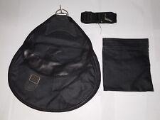 Falconry Cordura Bag, Hunting Bag, Strap & Detachable Meat Pocket. Eagle Design