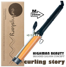 Professional Create Curling Story Tong type Iron M-Szie (25mm)  MADE IN KOREA