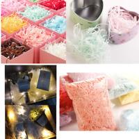 100g/pack Shredded Tissue Paper Baker Filler Package Wrap Gift Fit for Box Bags