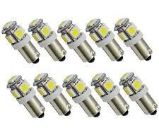 10x Birnen LED BA9S Standlicht T4W DOME 5 SMD 5050 Lampe Weiß 12V Deutsche Post
