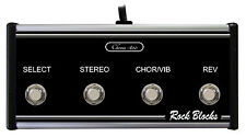 Rock Blocks - Custom Footswitch for Peavey Stereo Chorus 400 Amps