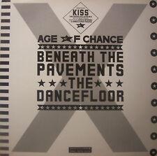 "AGE OF CHANCE Beneath The Pavements Dancefloor - 12"" Single PS"