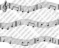 Music Notes Edible Cake Border Decoration by DecoPac - Set of 3 Strips