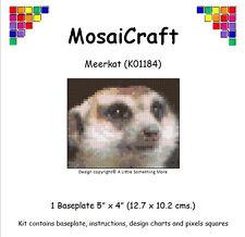 MosaiCraft Pixel Loisirs créatifs Mosaïque Art Kit 'Suricate' Pixelhobby