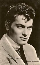 CARTE POSTALE PHOTO CELEBRITE ACTEUR TONY CURTIS