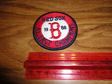 BOSTON REDSOX 1988 AL EAST CHAMPS PATCH 2.5 INCH SWEET LOOKING