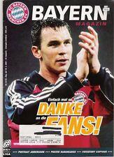 Bayern Magazin 13/52 , Bayern München - Energie Cottbus , 10.03.2001