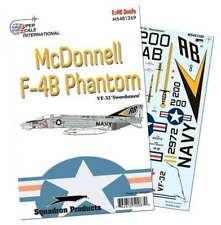 F-4 B Phantom, VF-32 Swordsmen (1/48 decals, Superscale 481269)