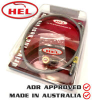 HEL Braided Remote bleed bleeder kit HOLDEN Commodore SS V8 6-speed T56 gearbox