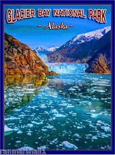 Glacier Bay National Park Alaska United States Travel Advertisement Art Poster