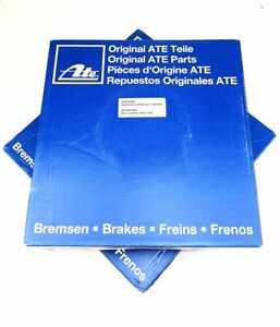 2x ATE Brake Discs Set Ø245 MM Rear For Audi A4 (B5), VW Passat (3B)