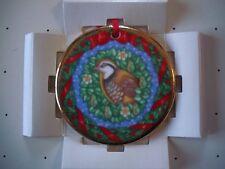 Vintage Royal Doulton Bone China Christmas Ornament Partridge Carol Lawson New