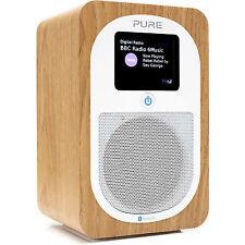 Pure Evoke H3 DAB/DAB+ FM Portable Radio - Oak