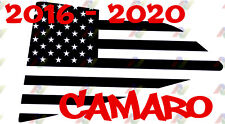 Fits 2016-2020 Chevy Camaro American Flag Window Decals Set ZL1 RS SS V6 V8