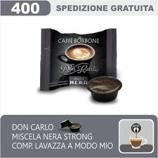 400 CAPSULE COMPATIBILI A MODO MIO BORBONE DON CARLO MISCELA NERA ITALIANFEEL