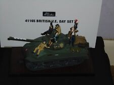 BRITAINS COLLECTORS CLUB WW2 SET NO.4165 BRITISH V.E. DAY SET,NEW,BOXED.
