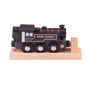 Bigjigs Toys Ivatt Engine - Black