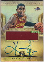 2012-13 GOLD STANDARD ROOKIE CARD AUTO: KYRIE IRVING #227 RC JERSEY AUTOGRAPH