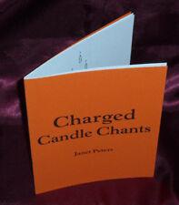 Chargé Bougie Chants- Finbarr Occulte. Magick Grimoire. Sorcellerie. Magic