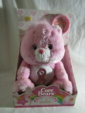 Care Bears Pink Power Bear Limited Edition Breast Cancer Awareness NEW