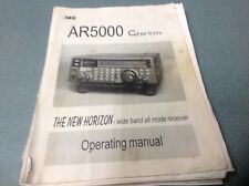 AOR AR5000 genuine instruction manual