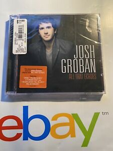 """JOSH GROBAN: """"All That Echoes"""" CD © 2012, Reprise Label, New Sealed Condition"""