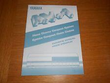YAMAHA AV-1 HOME CINEMA COMPACT SYSTEM OWNER'S  MANUAL , ORIGINAL