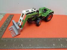 Vintage Siku Fendt turbomatik 308 LS tractor with front loader  LOTCOLT4KKU