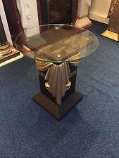 Medusa Bestelltisch Barock Style Dekosäule Griechische Säule mit Glas 10/39 2+50