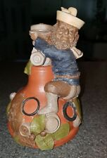 Tom Clark W.C. Plumber Gnome Figurine 1988-Signed by Artist