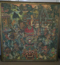 "Balinese traditional master painting ""Story of Ramayana"""