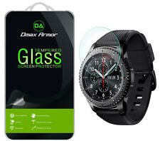 [3-Pack] Dmax Armor Samsung Gear S3 Frontier Tempered Glass Screen Protector
