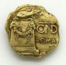 Distintivo OND Roma (C. Paccagnini Milano) cm 2,3 x 2,2