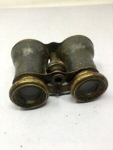 Vintage Old Iron Marine Use Binoculars Lances Rare