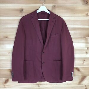 L.B.M. 1911 Chore Blazer Jacket Unlined Red Large 52 R