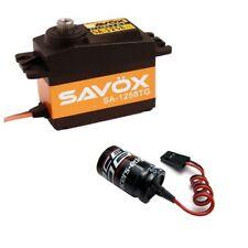 NEW Combo Savox SC-1258TG Servo + Glitch Buster