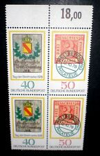 4'er pressione insieme giorno di francobollo ZD 980-981 ** BRD post fresco 1978 GERMANY