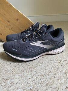 Women's Brooks Ghost 13 Trainers/Shoes UK Black Sz. 7.5 (D Wide)