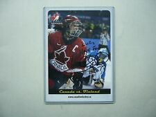 RBC 2002 OLYMPICS HAILEY WICKENHEISER AUTHENTIC AUTOGRAPH AUTO TEAM CANADA PHOTO